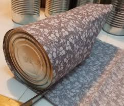 Upcycle Crafts - diy upcycled tin can organizers