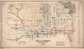 Map Of Toronto Uncovering The Stories Of Freedom Freedom City Tpl Virtual