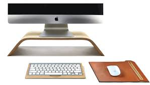 Computer Desk Accessories Wooden Desk Accessories Elevate Your Computer To A New Level The