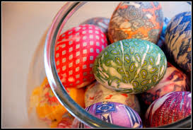 blown easter eggs serenity make it easter egg wreath