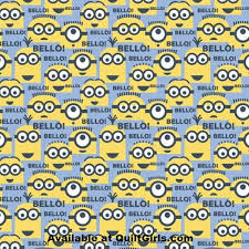 minion wrapping paper minions minion fabric quiltgirls