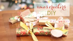 diy christmas crackers youtube