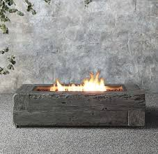 Gas Fire Pit Logs by 40 Backyard Fire Pit Ideas Madeira Log Fires And Fireplaces