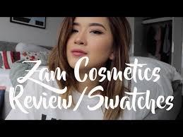 Lipstik Zaskia Adya Mecca zam cosmetic review and swatches sabrina athika
