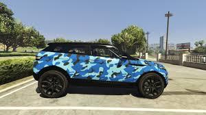 camo range rover range rover evoque camouflage livery pack gta5 mods com