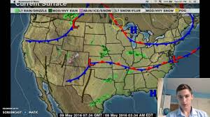Map North Dakota Telling A Weather Map On North Dakota Youtube