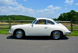 nissan coupe 2006 1965 porsche 356c coupe finished in ivory with red interior