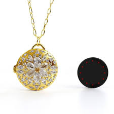 amazon com misfit flash with baublebar helena necklace cell
