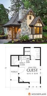 cottage homes floor plans house plans tale designs fairytale cottage home castle floor
