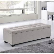 Padded Storage Bench Shop Wayfair For Storage Benches To Match Every Style And Budget