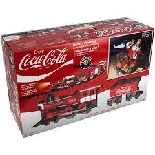 lionel trains coca cola g ready run set walmart com