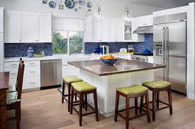 Square Kitchen Islands | turnberry drive transitional kitchen san diego by tracy