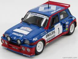 renault 5 rally solido 118026 scale 1 18 renault 5 maxi turbo n 1 rally tour de
