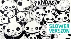 doodle with doodle with me pandas version moleskine doodle 2