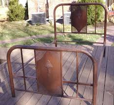 fabulous vintage metal twin bed frame bed frame twin iron bed