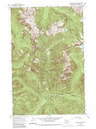Washington State Geologic Map by Monte Cristo Topographic Map Wa Usgs Topo Quad 47121h4