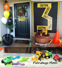construction birthday decorations or do a jeep theme my hubby