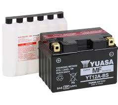 yuasa agm maintenance free battery for sv650 s 99 02