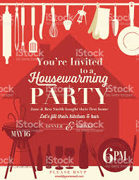 where to register for housewarming housewarming party invitation template stock vector more