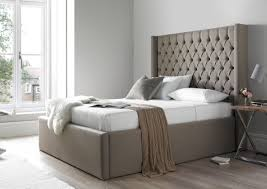 Bedroom Ideas With A Sleigh Bed Bed Frames Upholstered Bed Pros And Cons King Upholstered Sleigh
