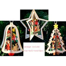 Rocking Bird Garden Ornament by Popular Wooden Christmas Tree Ornaments Buy Cheap Wooden Christmas