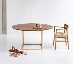 extendable round table in walnut autumn colors pinterest