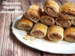 thermomix cuisine meatless monday thermomix vegetarian sausage rolls