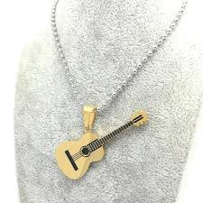 guitar pendant necklace images Guitar pendant necklace musical jewelry tune cloth jpg