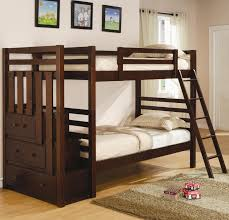 full over full bunk beds with stairs for kid top full over full