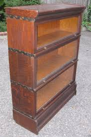 Ebay Bookcases Antique Oak Macey Barrister Bookcase Book Case Stacking Section