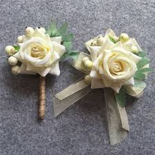Cheap Corsages Popular Ivory Wedding Corsages Buy Cheap Ivory Wedding Corsages