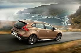 volvo corporate volvo car corporation launches v40 cross country capable and