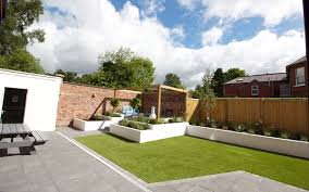 contemporary garden lisburn johnny knox garden design belfast