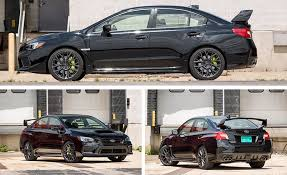 subaru impreza wrx 2018 2018 subaru wrx sti test review car and driver