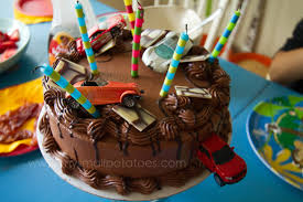 a race car birthday party on a k car budget u2026 small potatoes