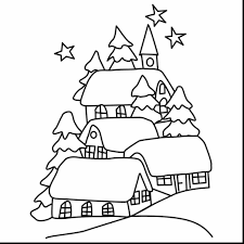 to draw landscapes for kids to draw a christmas landscape steps
