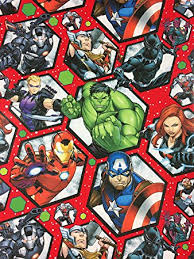marvel wrapping paper marvel christmas gift wrapping paper 20