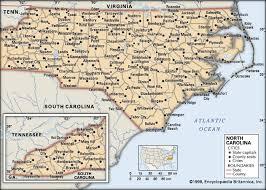 map of virginia and carolina with cities carolina history geography britannica
