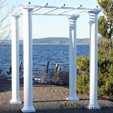 wedding arches and columns wholesale wedding gazebo with four 8 foot columns events wholesale