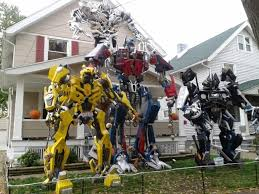 transformer decorations 25 outdoor decorations that will definitely make the