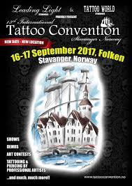 13th international tattoo convention stavanger september 2017