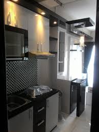 kitchen set minimalis modern kitchen set minimalis apartemen