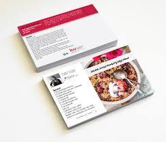 realtor real estate postcards recipe card marketing keller
