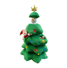 bzb goods singing tree musical plush with motion