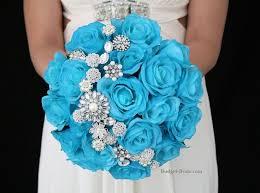 Blue Wedding Bouquets Fascinating Blue Wedding Flowers 1000 Ideas About Blue Wedding