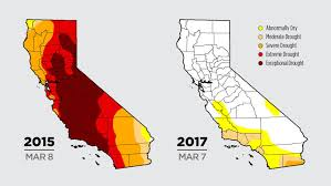 me a map of california color me drought maps blend and science but no politics