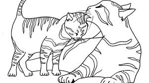 cat baby kitten coloring pages printable cute gekimoe u2022 86219