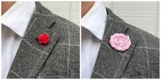 lapel flower how to properly wear a lapel flower 1 accessory guide for men