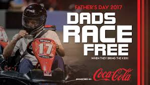 dads race free father u0027s day xtreme action park