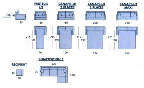 dimensions canap 2 places dimensions canape 2 places agrandir canapac 2 places dimensions dun